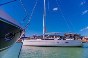 Boat on Hidden Harbour Marina