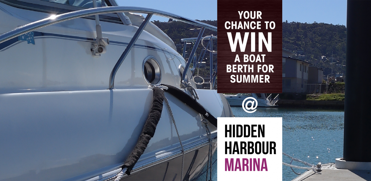 Hidden Harbour Marina - Win a boat berth