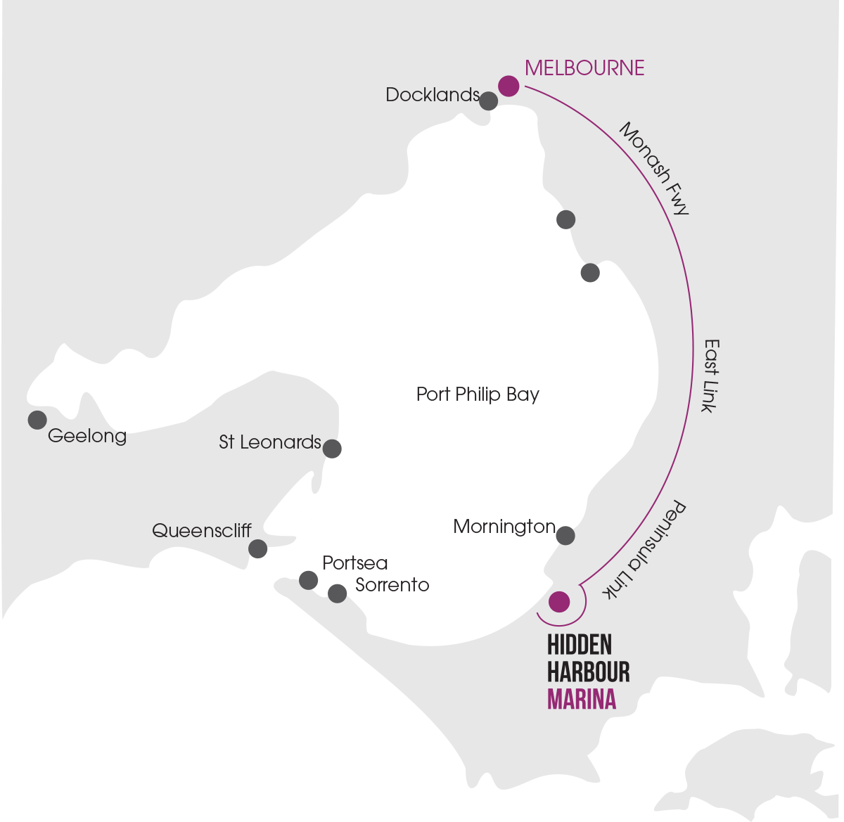 port-philip-bay-map