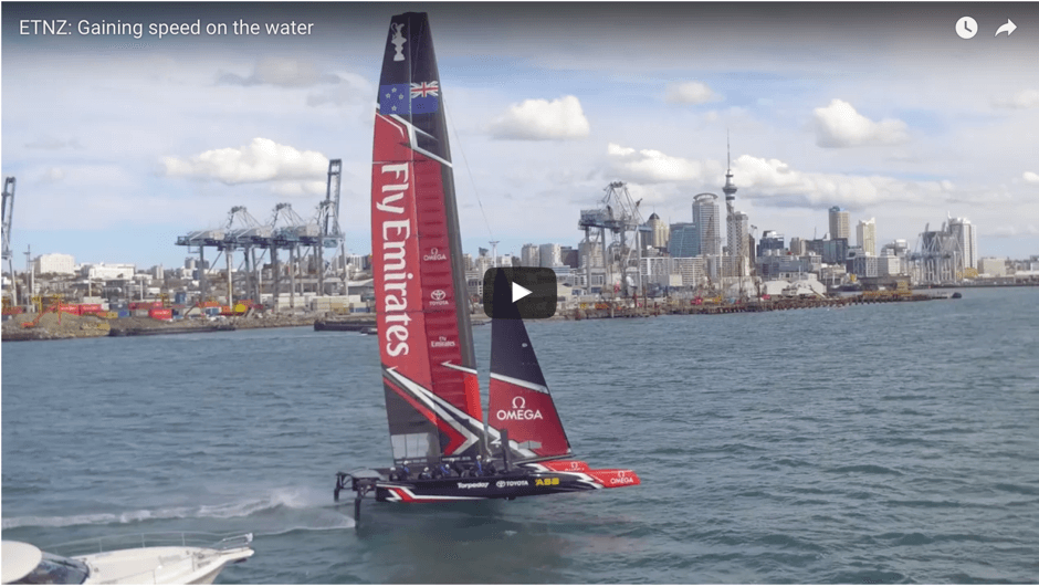 New Zealand Americas Cup team